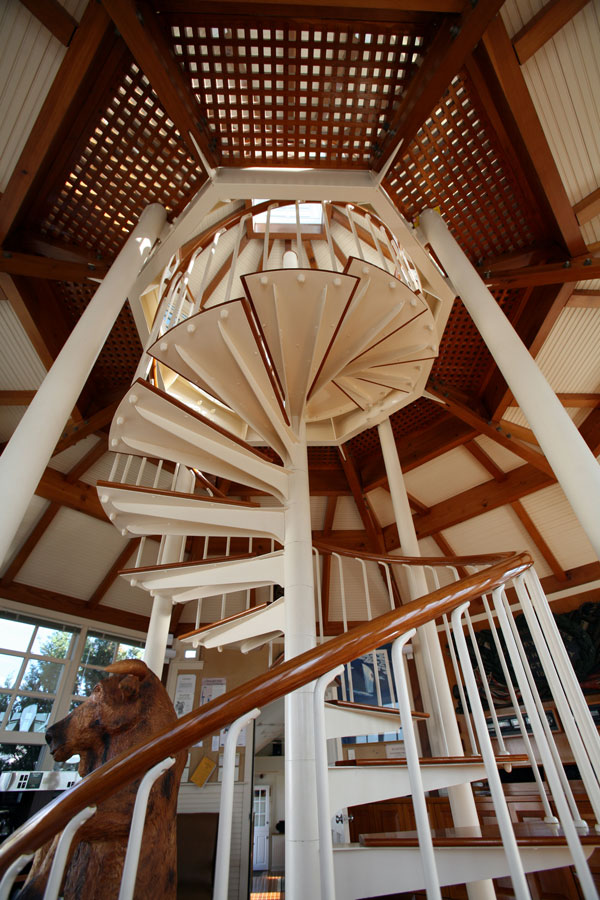 Staircase for Cape Cod weddings at Nauticus
